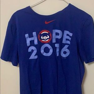 Chicago Cubs 2016 campaign. Size medium.